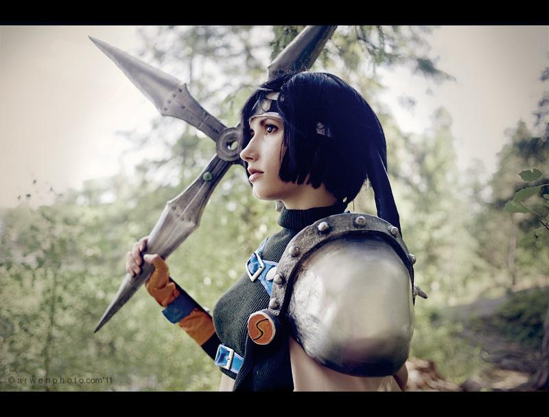 Les plus beaux cosplay (tout thème) 46031%20-%20Final_Fantasy%20Final_Fantasy_VII%20Yuffie_Kisaragi