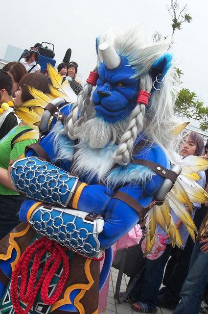 Les plus beaux cosplay (tout thème) 21660%20-%20Final_Fantasy%20Final_Fantasy_X%20Kimahri_Ronso